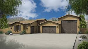 Home Plans With Rv Garage by Sage With Rv Garage Plan 5531 Estates At The Meadows Maracay Homes