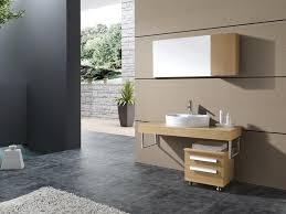 Modern Glass Bathroom Vanities by Contemporary Glass And Metal Bathroom Vanity U2014 The Homy Design