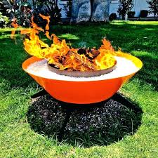 Propane Outdoor Fireplace Costco - propane camping fire pit costco hand rolled steel fire pit outdoor