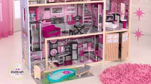 kidkraft sparkle mansion dollhouse 65826 youtube