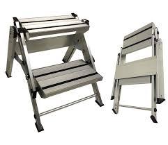 Fold Up Step Ladder by Caravan Motorhome Steps