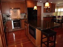 kitchen ideas cherry cabinets kitchen ideas cherry cabinets with black granite countertops
