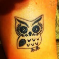 black and white little owl tattoo tattoos re