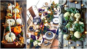 Thanksgiving Table Centerpieces by 23 Insanely Beautiful Thanksgiving Centerpieces And Table Settings