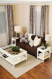 White Table For Living Room Contemporary Living Room Decor Ideas Brown With The White
