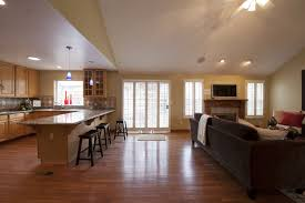 kitchen family room designs home decor interior exterior fancy at