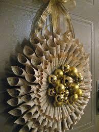 25 unique rolled paper wreath ideas on diy