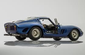 ferrari coupe models ferrari 250 gto blue 1962 by cmc model cars racing heroes