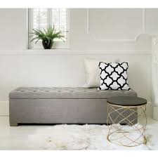 buttons grey ottoman gray ottoman ottomans and bedrooms