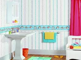 Bathroom Border Ideas by Amazing Decoration Kids Bathroom With Cool Design Furniture And