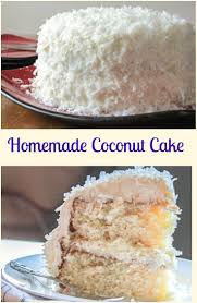 Homemade Coconut Cake by Homemade Coconut Cake Peeinn Com
