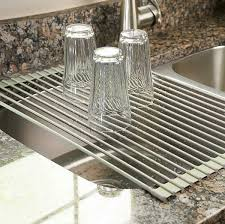 Kitchen Dish Rack Ideas Over The Sink Dish Drainer Rack Multipurpose Kitchen Gadget Tool