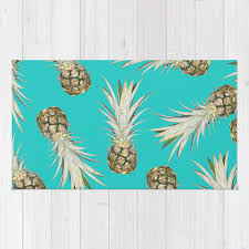 Pineapple Area Rug Great Pineapple Kitchen Rug With Pineapple Area Rug