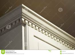 Kitchen Cabinets Crown Moulding by Kitchen Cabinet Crown Moulding Royalty Free Stock Photo Image