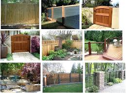 Privacy Fence Ideas For Backyard Backyard Privacy Ideas Wysiwyghome
