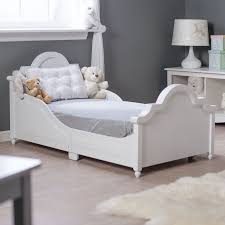 Todler Beds Bedding White Toddler Bed Constructed From Durable Wood And Mdf