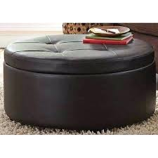 large round leather ottoman charming round leather ottoman round leather coffee table ottoman
