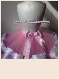 ribbon tutu pink white orchid ribbon trimmed tutu skirt cake smash photo shoot
