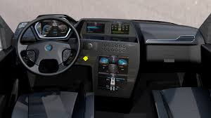 renault truck interior this turbine powered electric big rig looks completely awesome