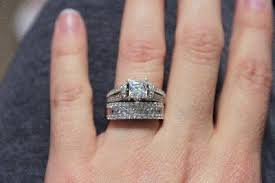 Jcpenney Wedding Rings by Diamonart Cubic Zirconia Engagement Ring Jcpenney