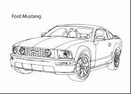 brilliant ford mustang car coloring page with mustang coloring