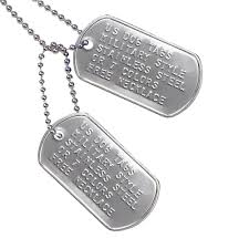 engraved dog tags for men custom us dog tags includes two personalized