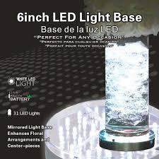Vase Lights Wholesale Wedding Centerpiece Battery Operated Crystal Led Under Martini