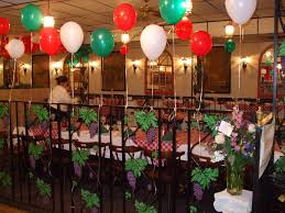 italian themed party interior design italian themed party decoration ideas home design