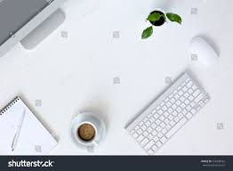 Office Chair Top View Png Top View Modern Technology Working Place Stock Photo 376348762