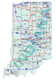 Southeastern United States Road Map by Southeastern Indiana Sibcy Cline Blog