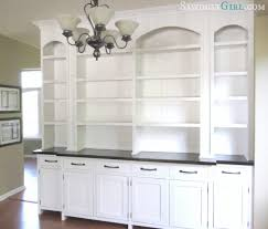built in dining room buffet val u0027s reveal sawdust