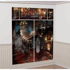 haunted mansion home decor amscan bb670451 haunted mansion well decorating kit ebay