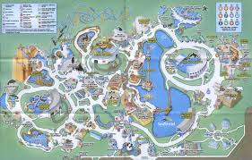 Florida Attractions Map Theme Park Attractions Map Seaworld Orlando Within Sea World