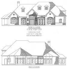 Estate House Plans by Plan No 5065 1204