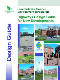 ihie home zone design guidelines highways design guide for new developments traffic highway