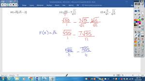 30 60 90 Triangles Worksheet Simplifying Radicals Worksheet 1 Youtube