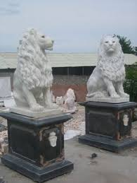 marble lions granite marble lion for garden sculpture animal statue sy