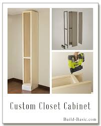 How To Build A Display Cabinet by The Build Basic Custom Closet Series U2013 Custom Closet Cabinet