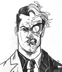 my daily sketch two face batman the animated series album on