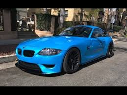 bmw z4 m coupe modified bmw z4m coupe one take