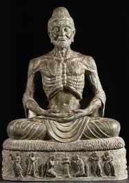 spiritual statues custom brass meditating starving buddha 42 82t16 hindu gods