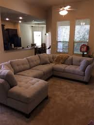 cindy crawford metropolis platinum 3pc sectional for sale in waco