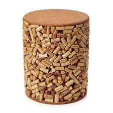 wine cork stool