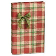 christmas plaid wrapping paper printed wrapping paper wholesale discounts bags bows