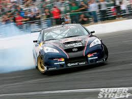 hyundai genesis drift formula drift 2009 rmr bull hyundai genesis coupe carros