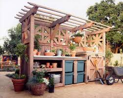 65 diy potting bench plans completely free in benches with storage
