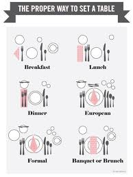 proper table setting etiquette 14 hacks that ll help the laziest person host a dinner party