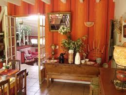 landes dining room landes houses ch blue yellow vielle soubiran landes aquitaine