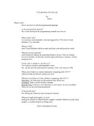 viva questions for java lab method computer programming c