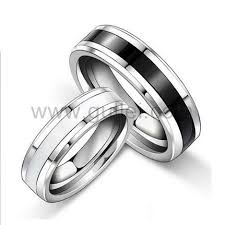 custom wedding bands custom engraved wedding bands tungsten rings for 2 personalized